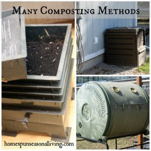 Many Composting Methods