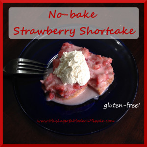 No-bake Strawberry Shortcake Recipe
