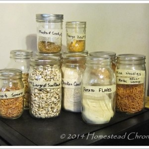 How To Use Canning Jars for Dry Storage