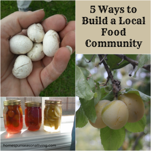 5 Ways to Build a Local Food Community
