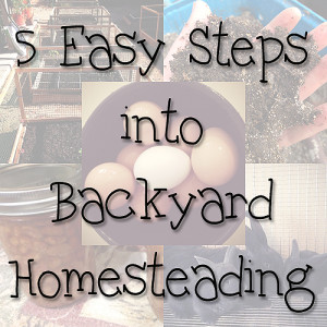 5 Easy Steps into Backyard Homesteading