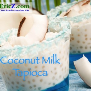 Vegan Tapioca Pudding
