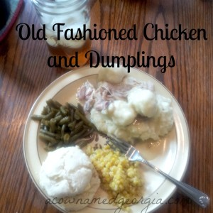 Old-Fashioned Chicken and Dumplings From Scratch