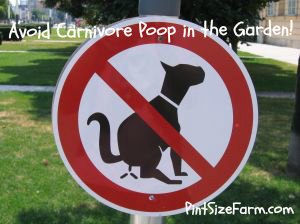 Can you Use Carnivore Manure in the Garden?