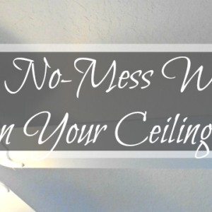 The No-Mess Way to Clean Your Ceiling Fan