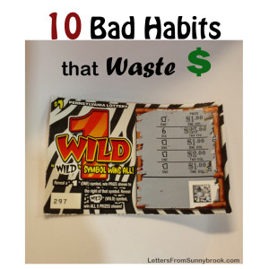 Budget Buster: Your Bad Habits