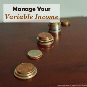 Variable Income? 5 Budget Tips