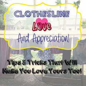 Clothesline Love & Appreciation: Tips & Tricks