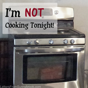 Tired of Cooking?