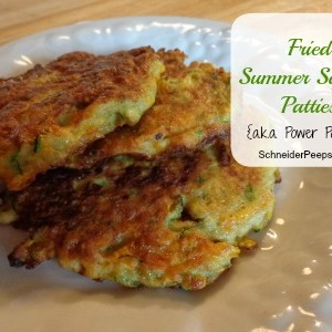 Fried Summer SquashPatties