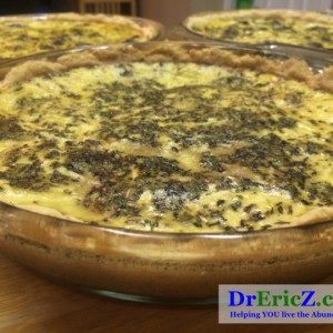 Mama Z's Monday Night Quiche Delight!