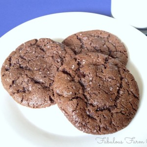Chocolate Salted Cookies