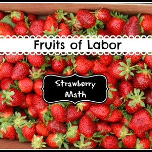 Strawberry Math in the Field