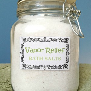 Soothing Vapor Relief Bath Salts