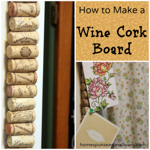 How to Make a Wine Cork Board