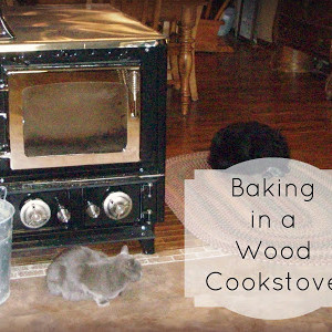 Wood Cookstove Baking
