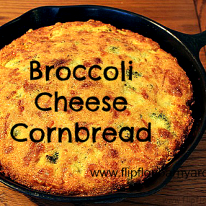 Real Food Broccoli Cheese Cornbread Recipe
