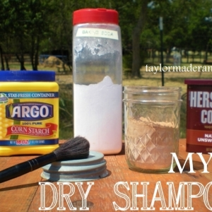 MYO Dry Shampoo – Only 3 Ingredients!