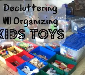Organizing your Kid's Toys