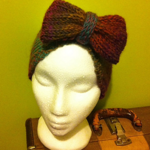 Tri-Bow Headband –  A great knitting pattern for handmade gifts