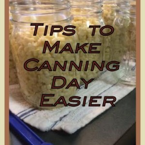 5 Tips to Make Canning Day Easier