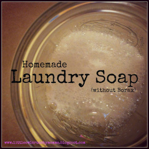 Easy Homemade Laundry Detergent (without Borax)