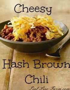 Cheesy Hash Brown Chili Recipe
