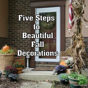 5 Fall Decorating Ideas