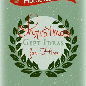 Homesteader Christmas Gifts (for Him)