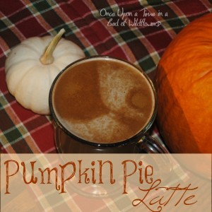 Pumpkin Pie in a Coffee Cup