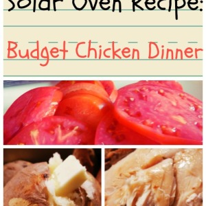 Solar Oven Recipe: Budget Chicken