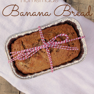 Old-Fashioned Banana Bread