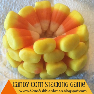Candy Corn Stacking Game