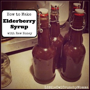 How to Make Your Own Elderberry Syrup with Raw Honey