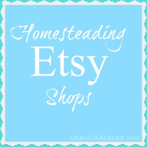 Homesteading Etsy Shops