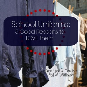 school. They go to a public, city school… and they wear uniforms ...