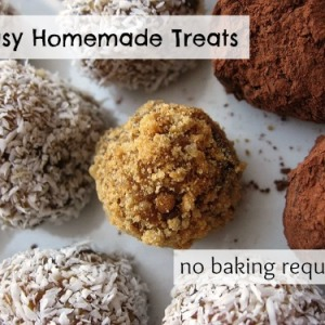 5 Simple No Bake Treats