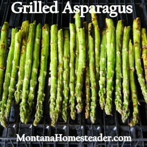 Grilled Asparagus with Lemon Butter Sauce