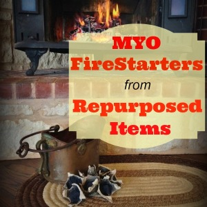 MYO FireStarters With Items You Already Have