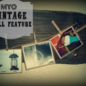 MYO Reclaimed Wood Vintage Wall Feature
