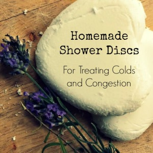 Easy DIY Vapor Shower Discs