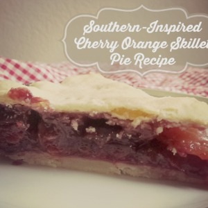 Homemade Cherry Orange Skillet Pie