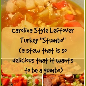 Carolina Style Leftover Turkey Stumbo (a stew that is so delicious that it wants to be a Gumbo)