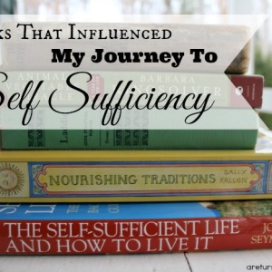 7 Books that influenced my journey to Self Sufficiency 3
