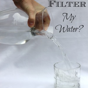 Do I Need to Filter My Water