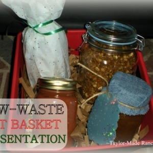 Low-Waste Gift Baskets Can Be Both Beautiful And Functional
