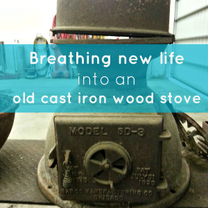 How to Refinish a Cast Iron Woodstove