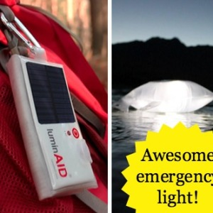 LuminAID Solar Inflatable Light Review: Light Alternatives for Emergencies