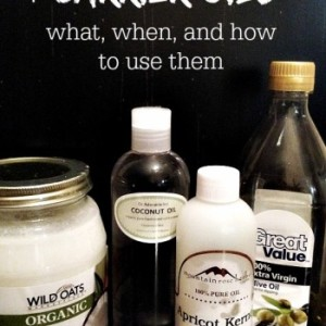How to use Carrier Oils with Your Essential Oils