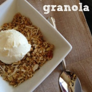 Healthy, Easy, and Gluten Free Granola